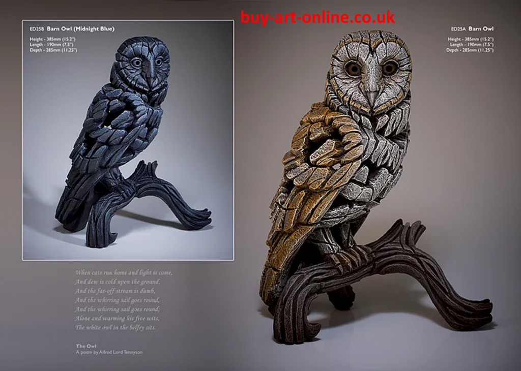 Barn owl from Edge Sculptures