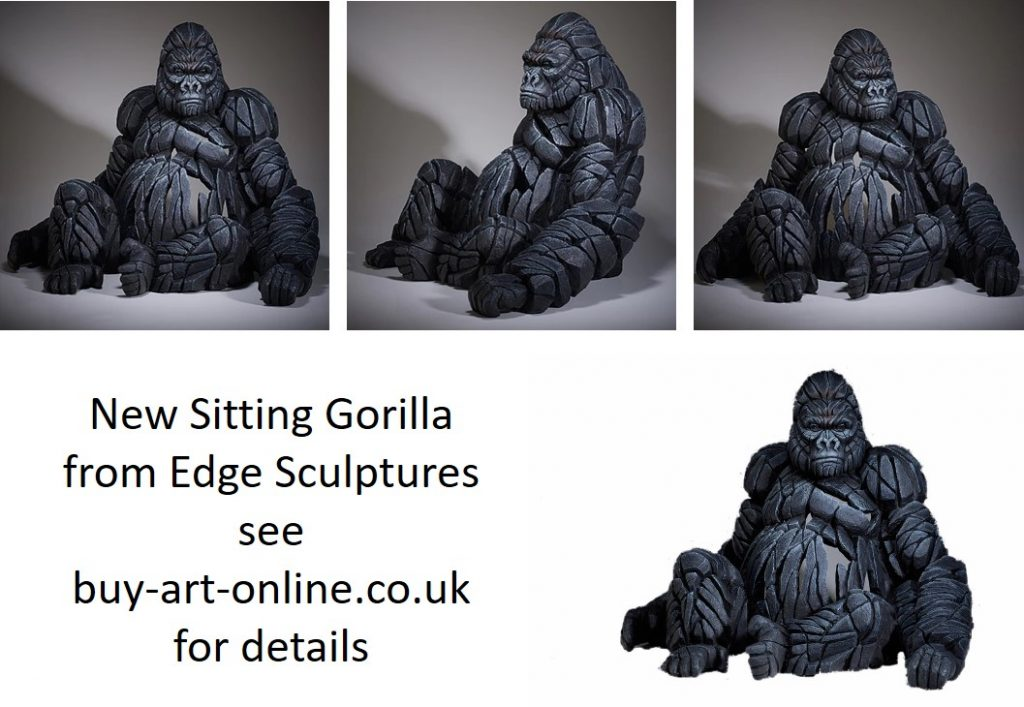 Gorilla from Edge Sculptures
