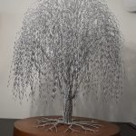 wire tree by clive maddison