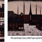 Lowry style paintings