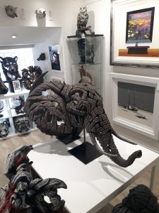Matt Buckley African Elephant sculpture