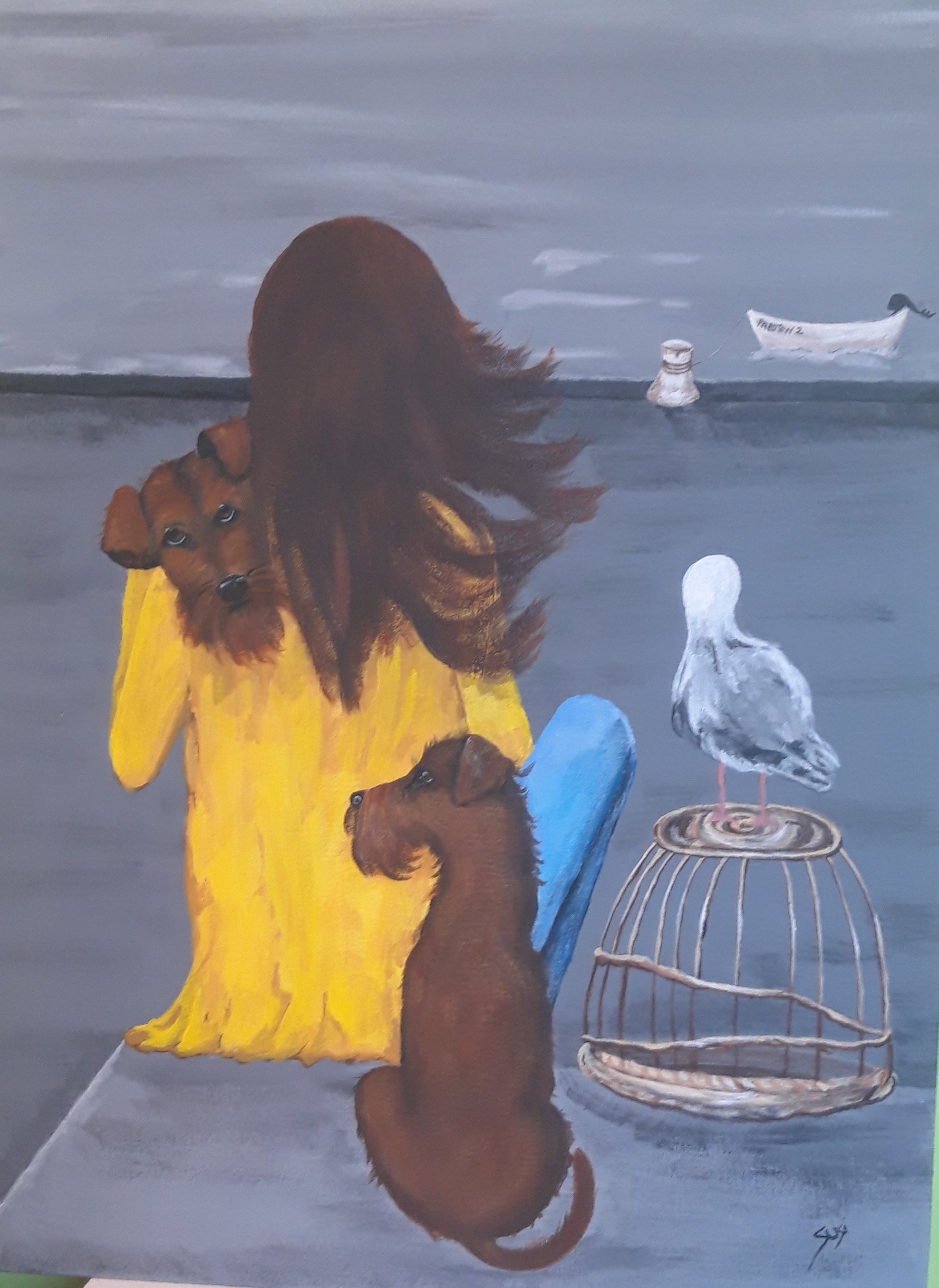 Salty Dog & Padstow Two | Buy Art Online